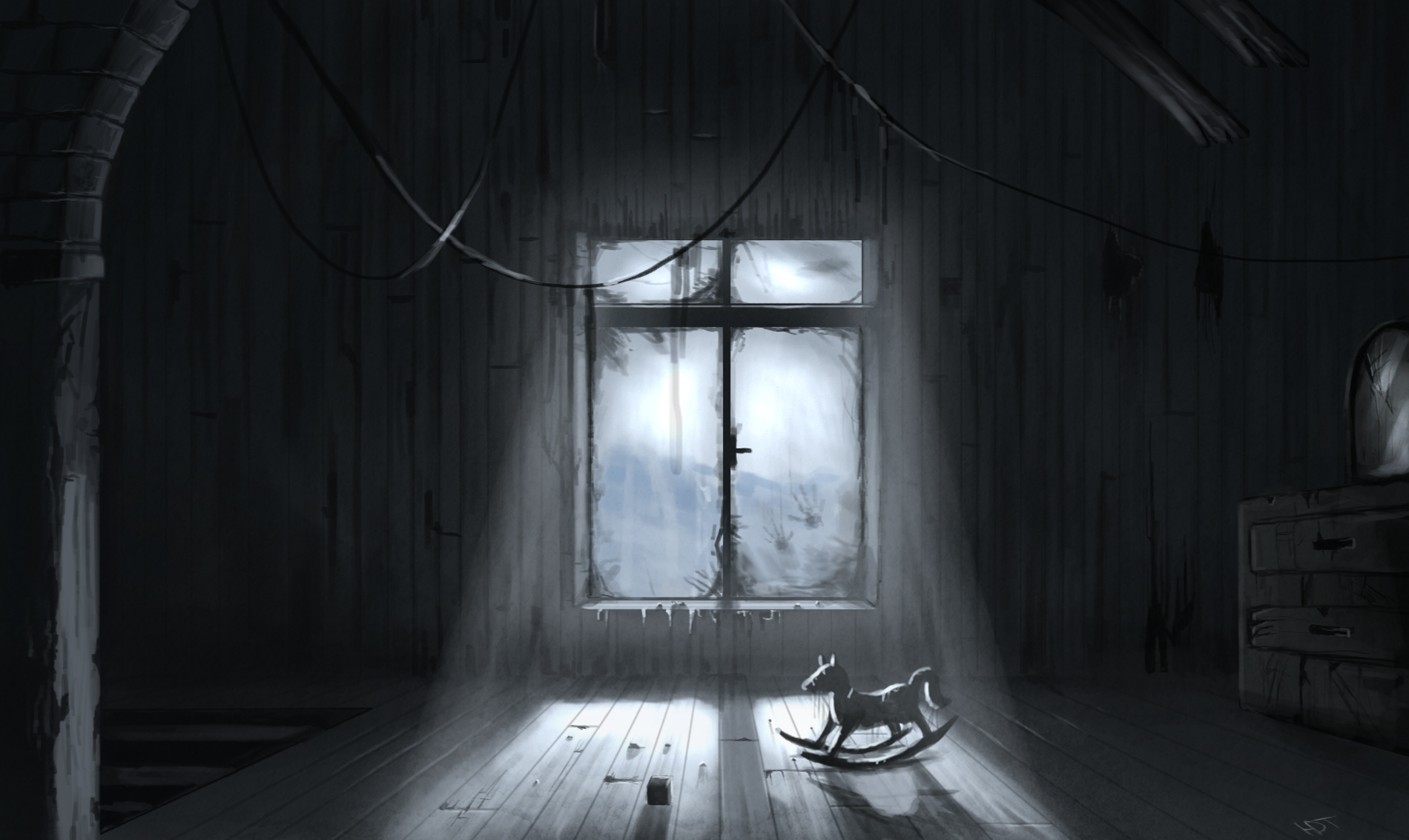 Creepy Wallpaper And Background Image