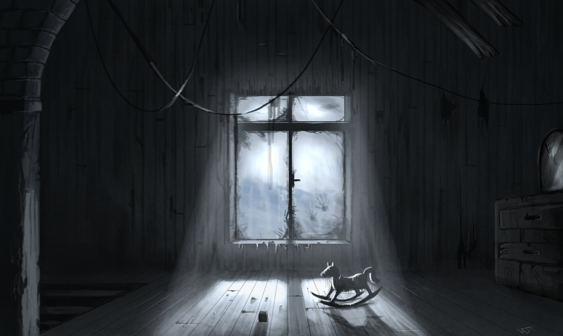 Creepy Wallpaper And Background Image 1900x1133 Id 315052