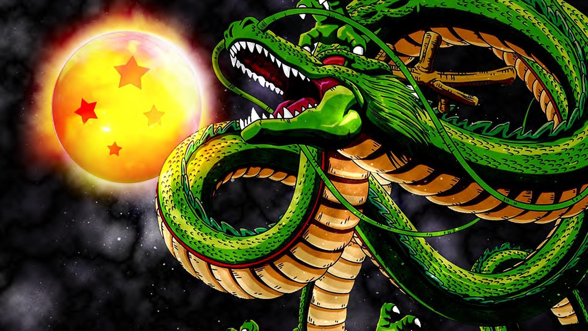 Anime - Dragon Ball Z  Shenron (Dragon Ball) Anime Künstlerisch Wallpaper