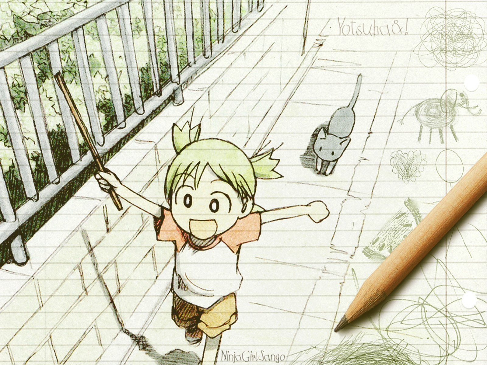 Yotsuba&-! images Yotsuba Wallpaper HD wallpaper and background ...