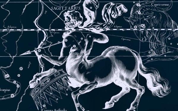 Fantasy Zodiac Zodiac Sign Horoscope Sagittarius HD Wallpaper | Background Image