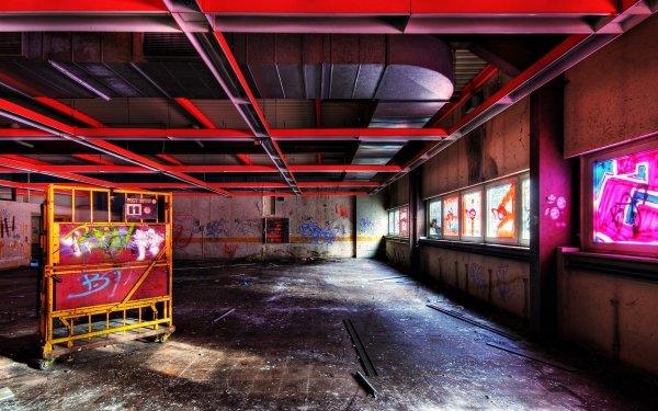 Artistic Graffiti Trippy Psychedelic Urban Urban Art HD Wallpaper | Background Image