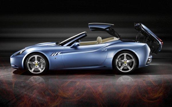 Vehicles Ferrari Blue Car Sport Car HD Wallpaper | Background Image