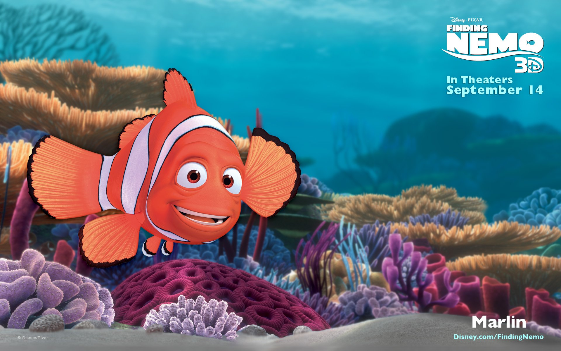 33 Finding Nemo HD Wallpapers