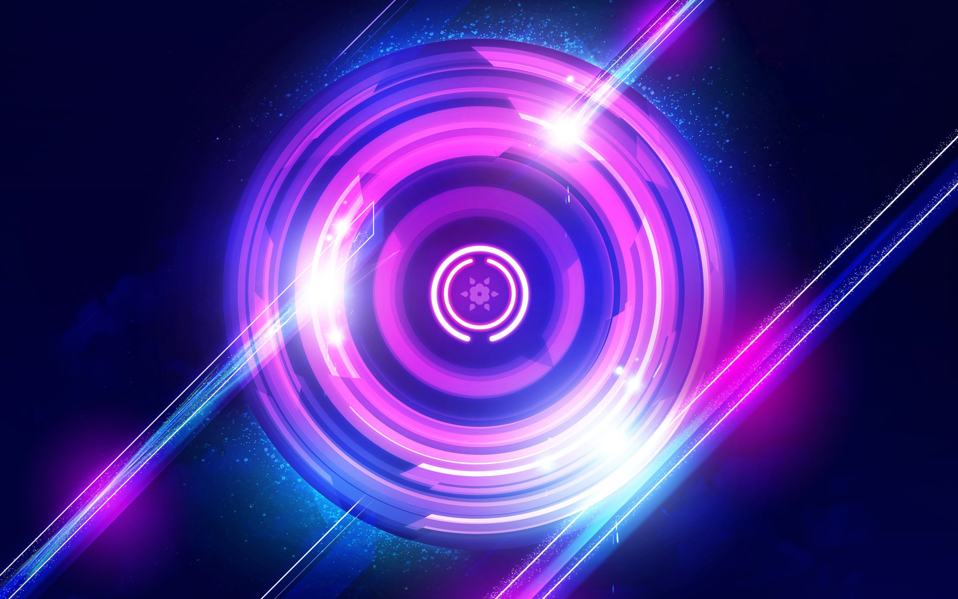 Abstract - Purple  Wallpaper