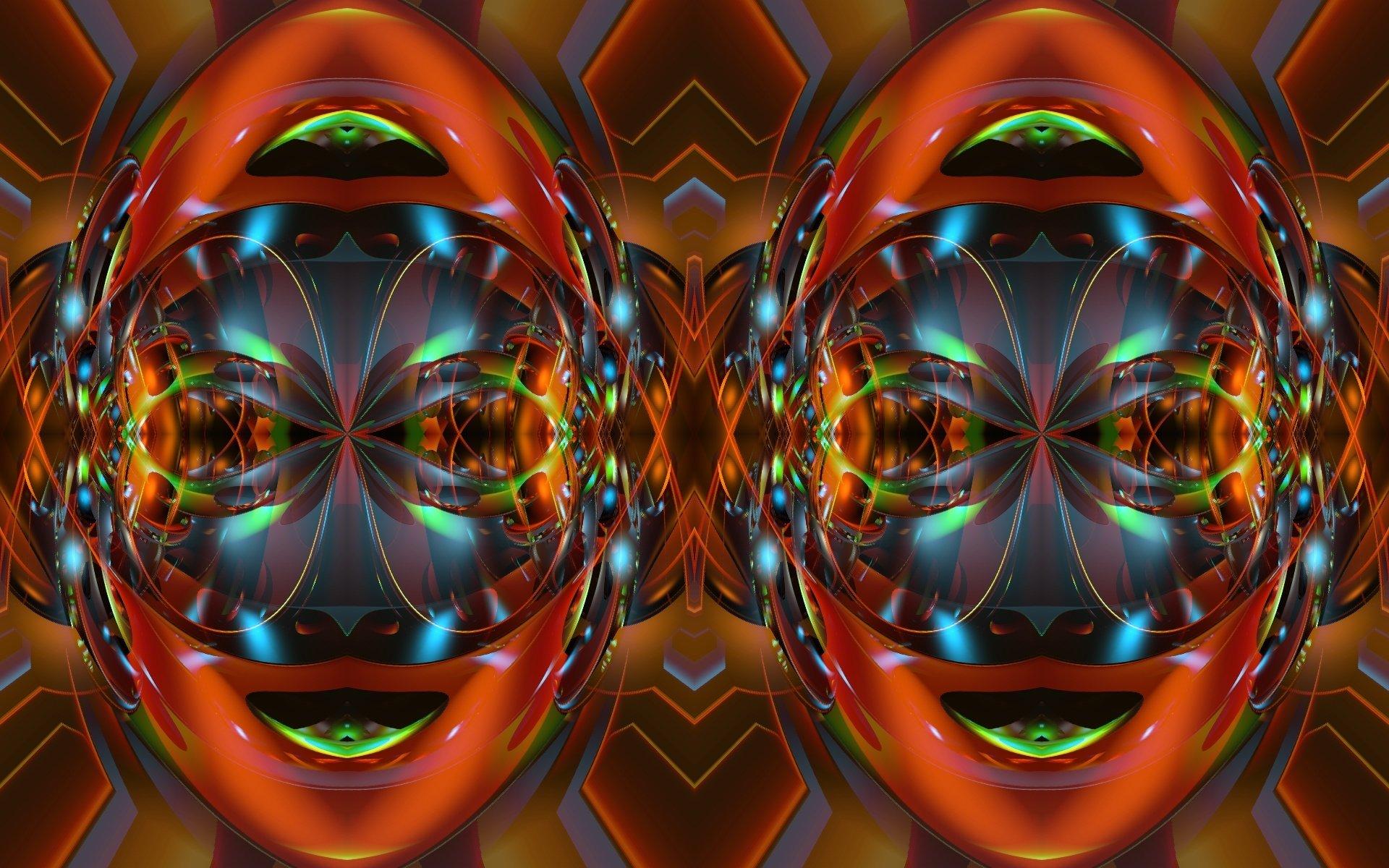 Abstract - Digital Art  Artistic Face Abstract Wallpaper
