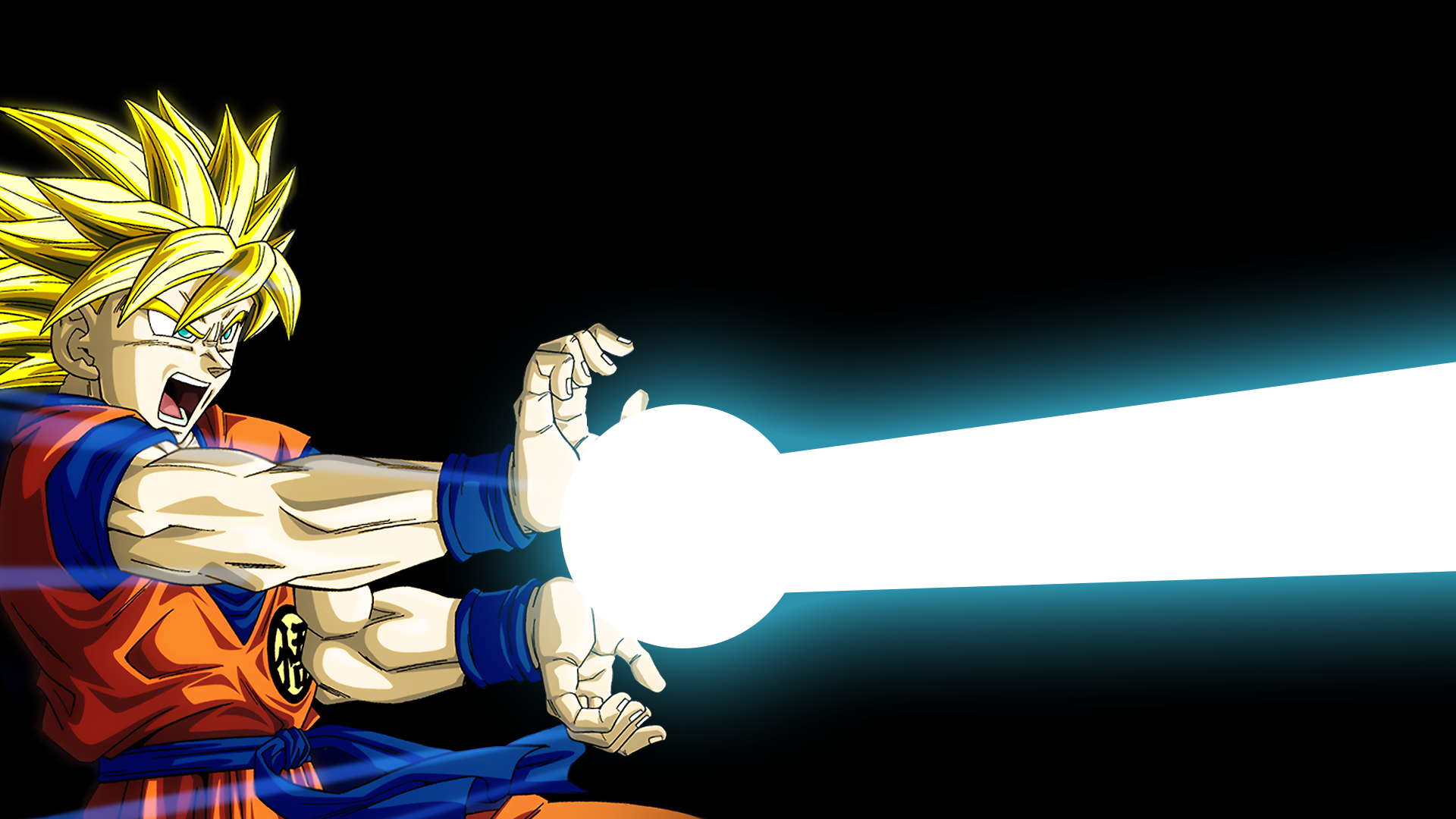 Anime - Dragon Ball Z  Goku Kamehameha Wallpaper