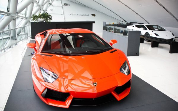 Vehicles Lamborghini Aventador LP 700-4 Lamborghini HD Wallpaper | Background Image