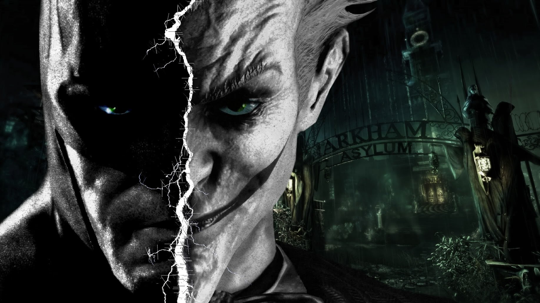 batman: arkham asylum wallpaper and background image | 1835x1032