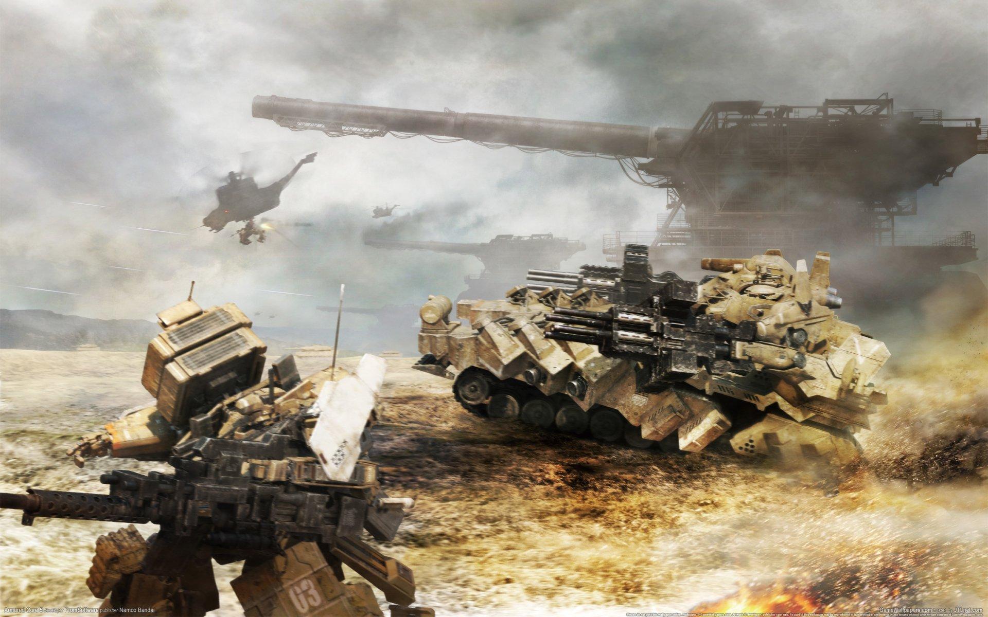 アーマードコア 戦車機体