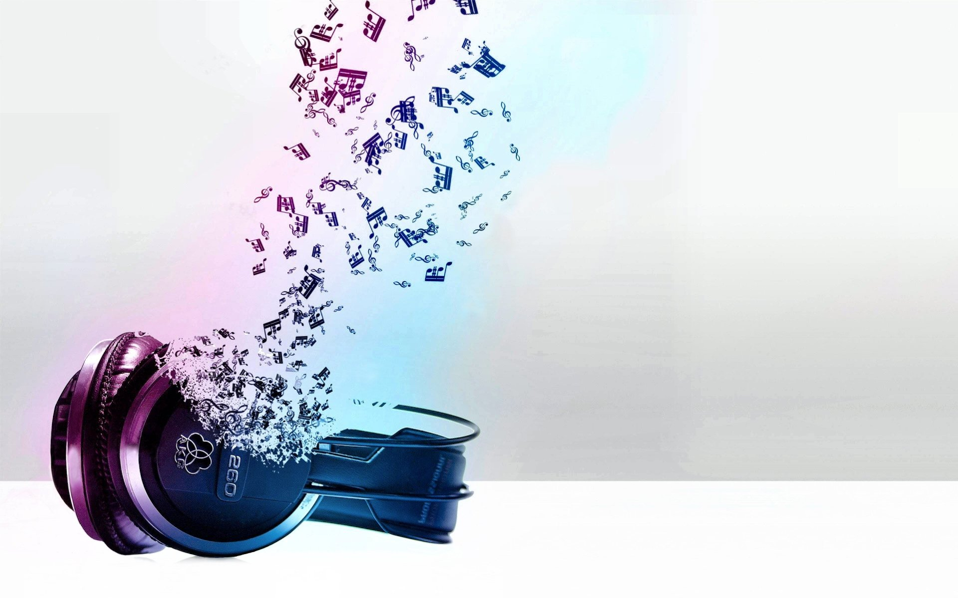 Music - Headphones  Music Pastel Wallpaper