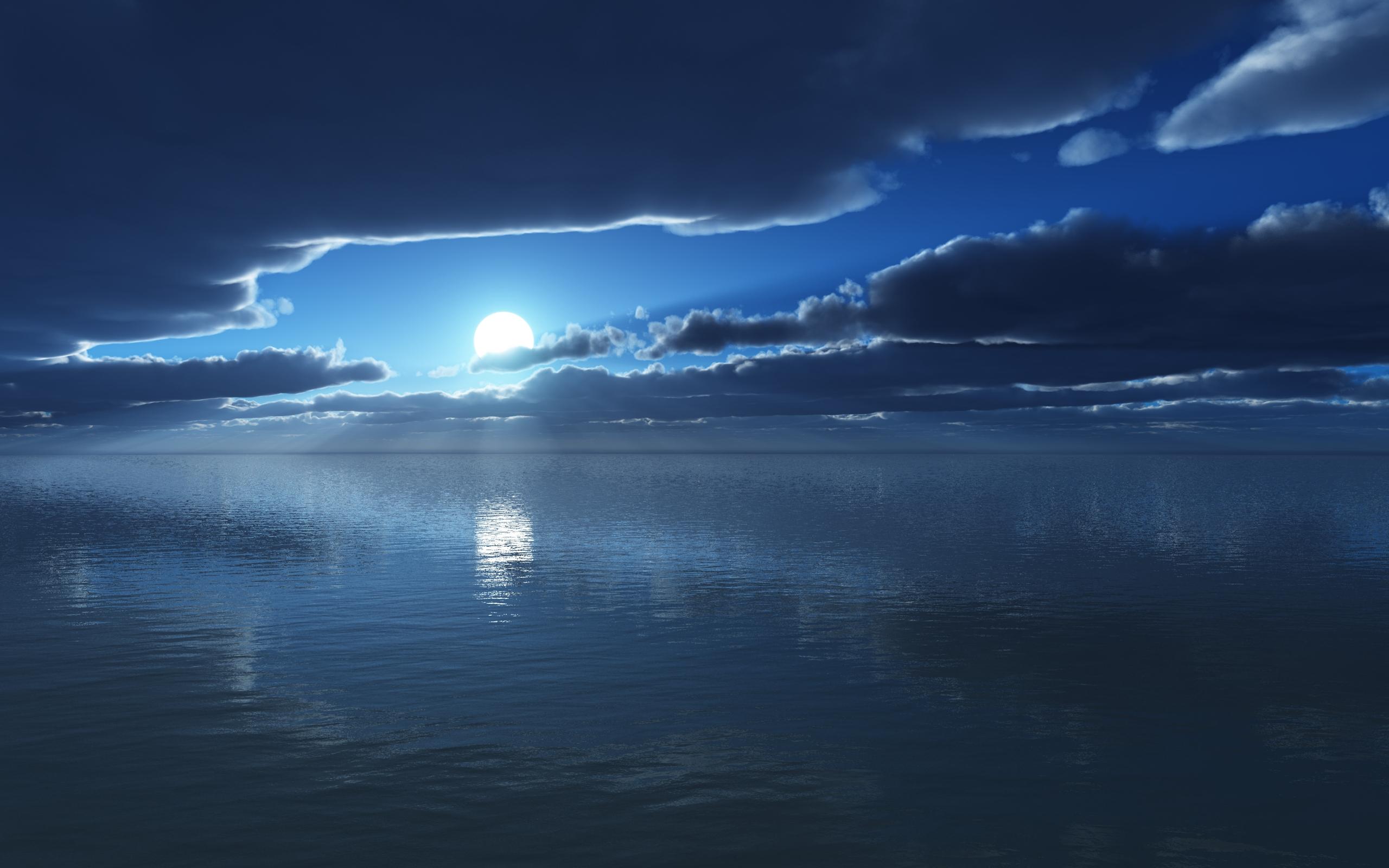 Ocean full hd wallpaper and background image 2560x1600 - Wallpaper ocean blue ...