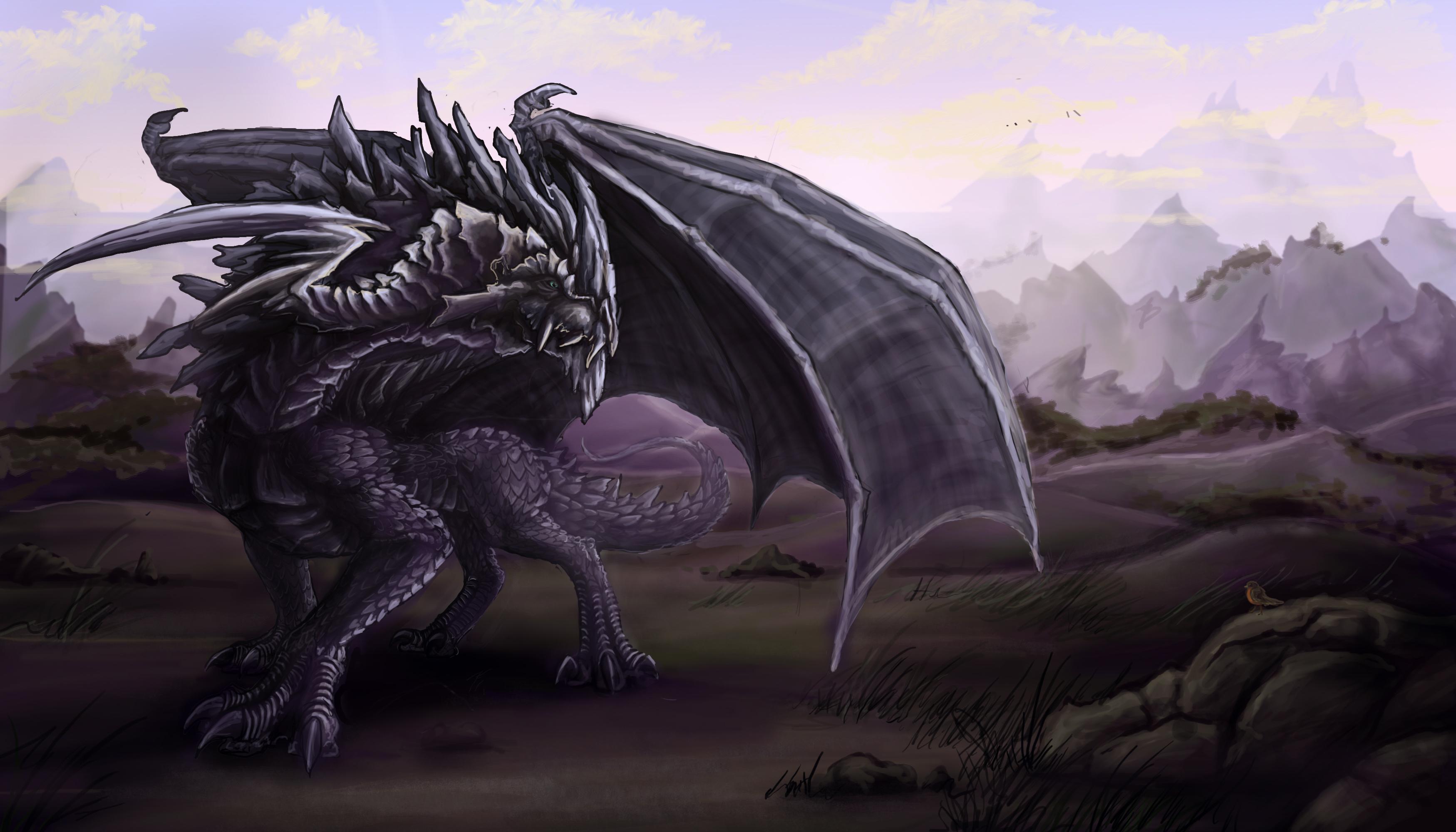 download black dragon wallpaper - photo #14