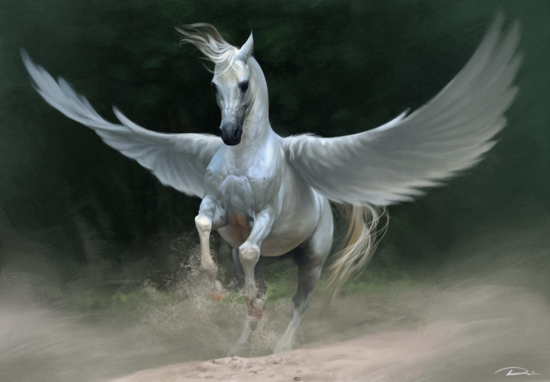 Flying Horse Computer Wallpapers, Desktop Backgrounds ...
