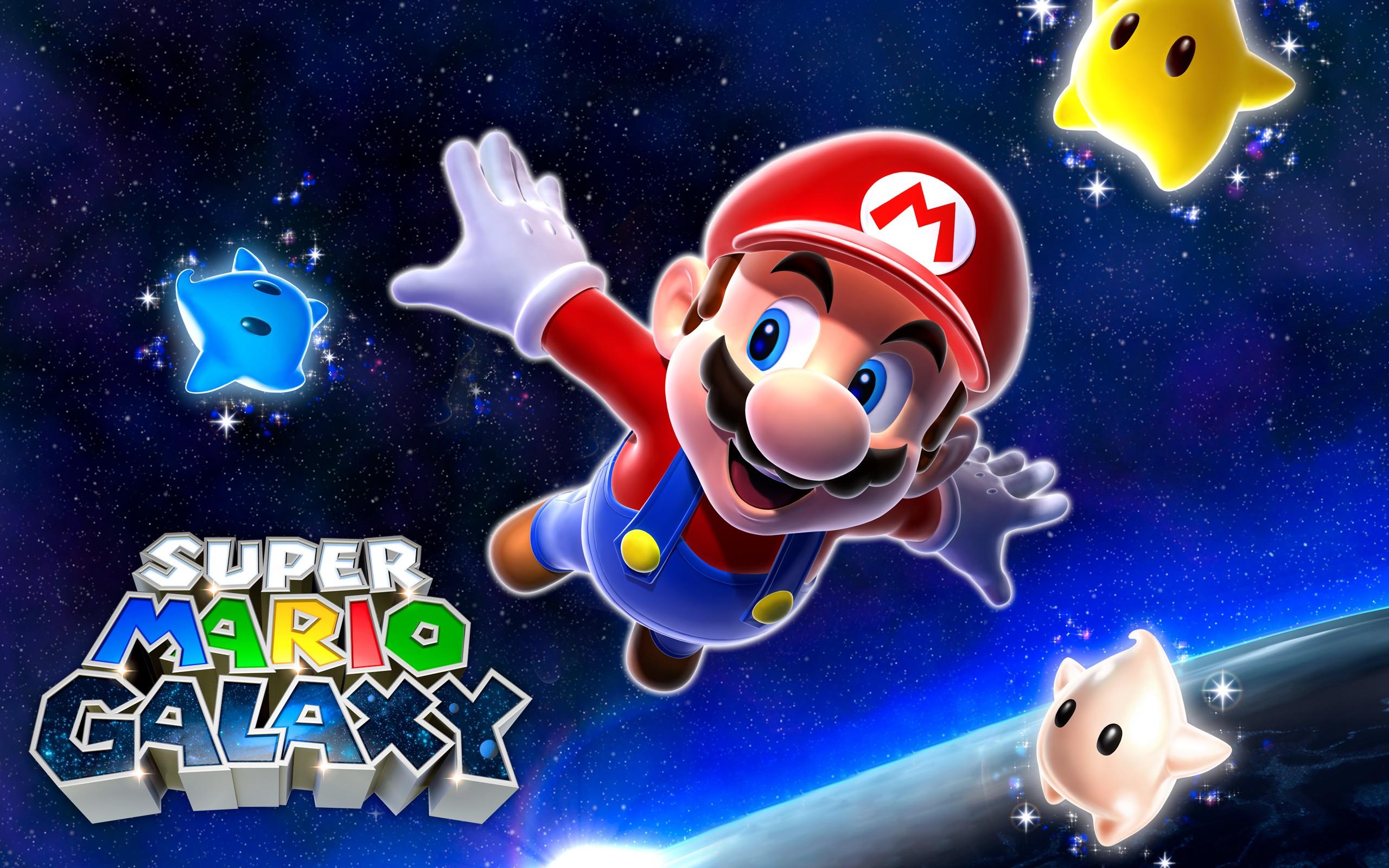 Super Mario Galaxy Fondo De Pantalla Hd Fondo De
