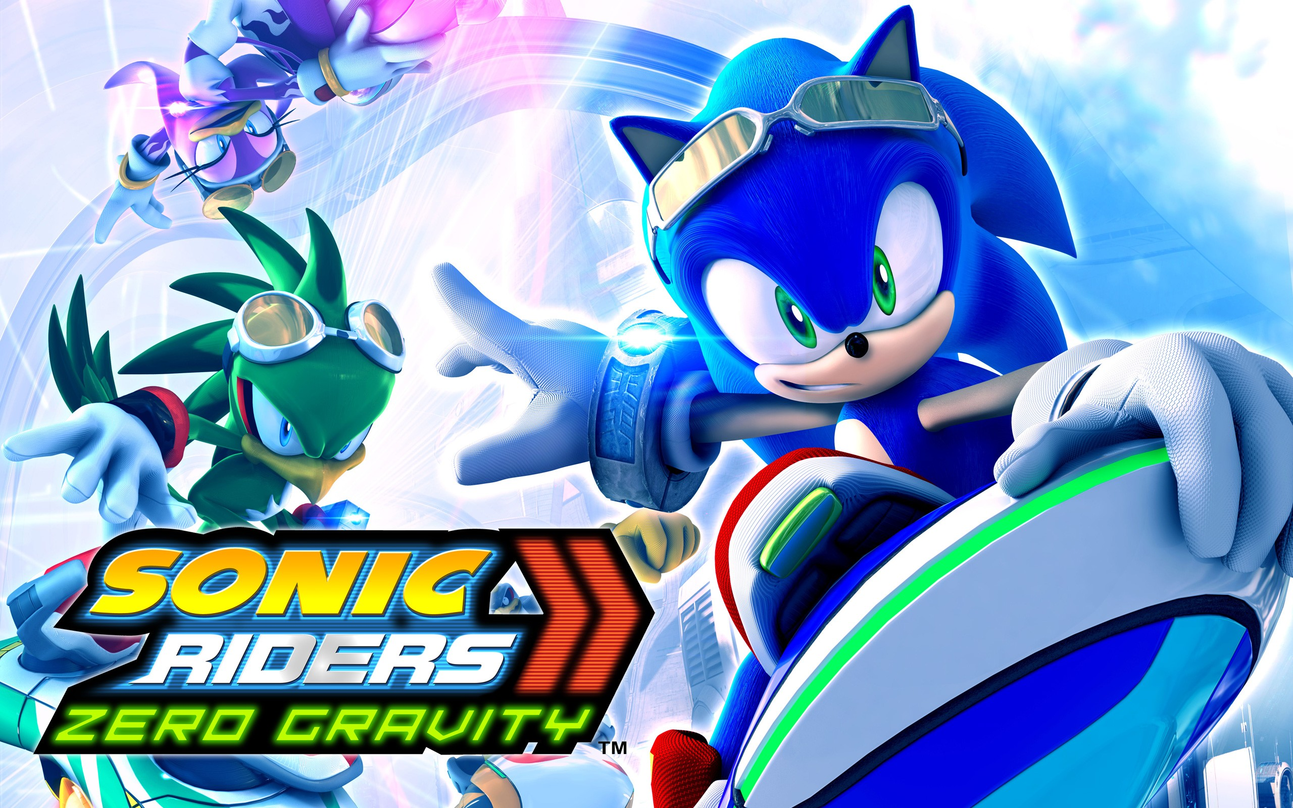 12 Sonic Riders Zero Gravity Hd Wallpapers Background Images Wallpaper Abyss