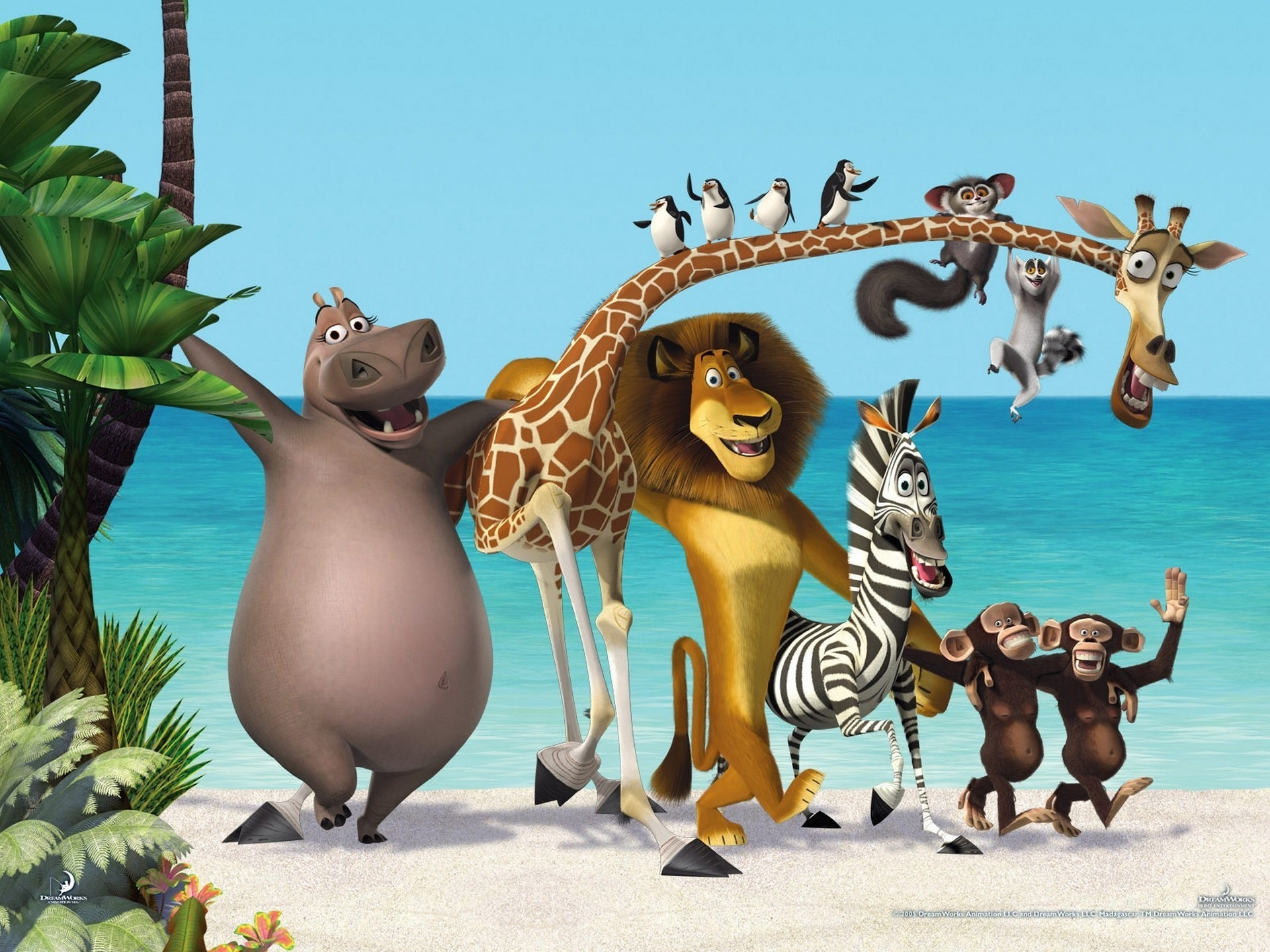 Madagascar 3 europe 39 s most wanted full hd wallpaper and - Girafe madagascar ...