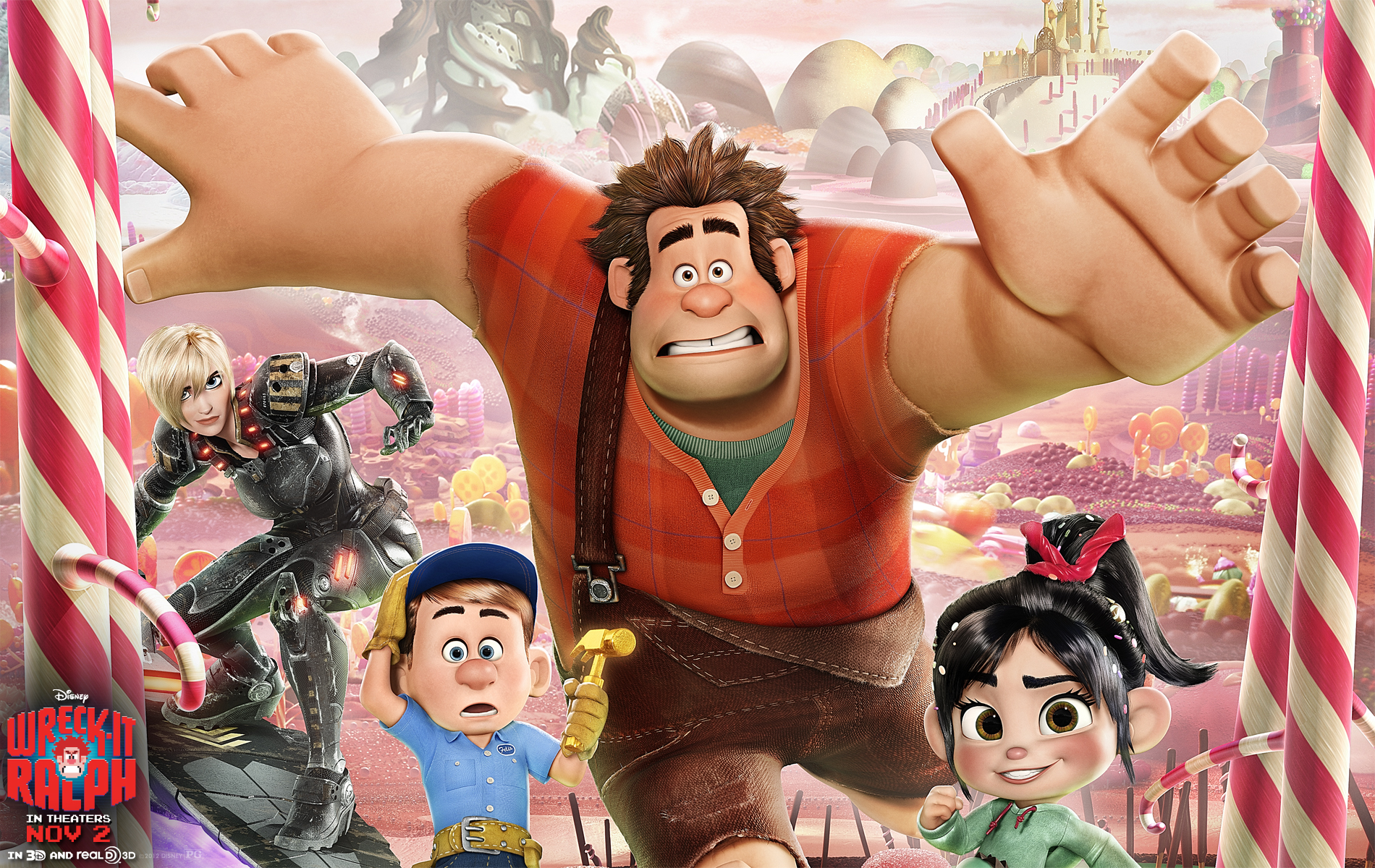 Wreck-It Ralph Wallpaper and Background Image | 1900x1200 | ID:321936 - Wallpaper Abyss