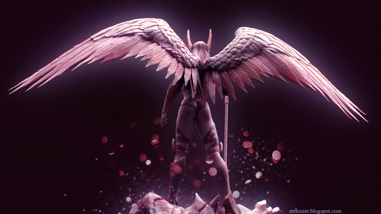Angel Warrior Wallpaper And Background 1600x900 Id 322090