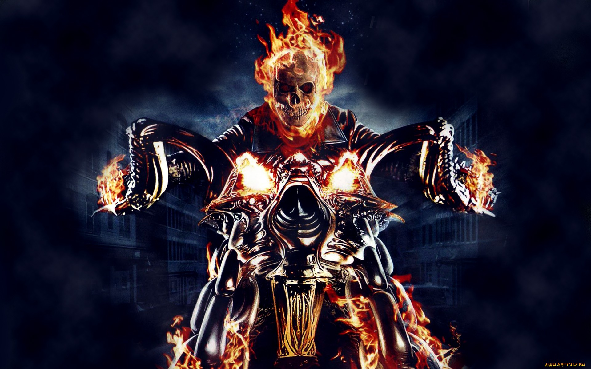 Ghost rider full hd wallpaper and background image 1920x1200 id comics ghost rider wallpaper voltagebd Choice Image