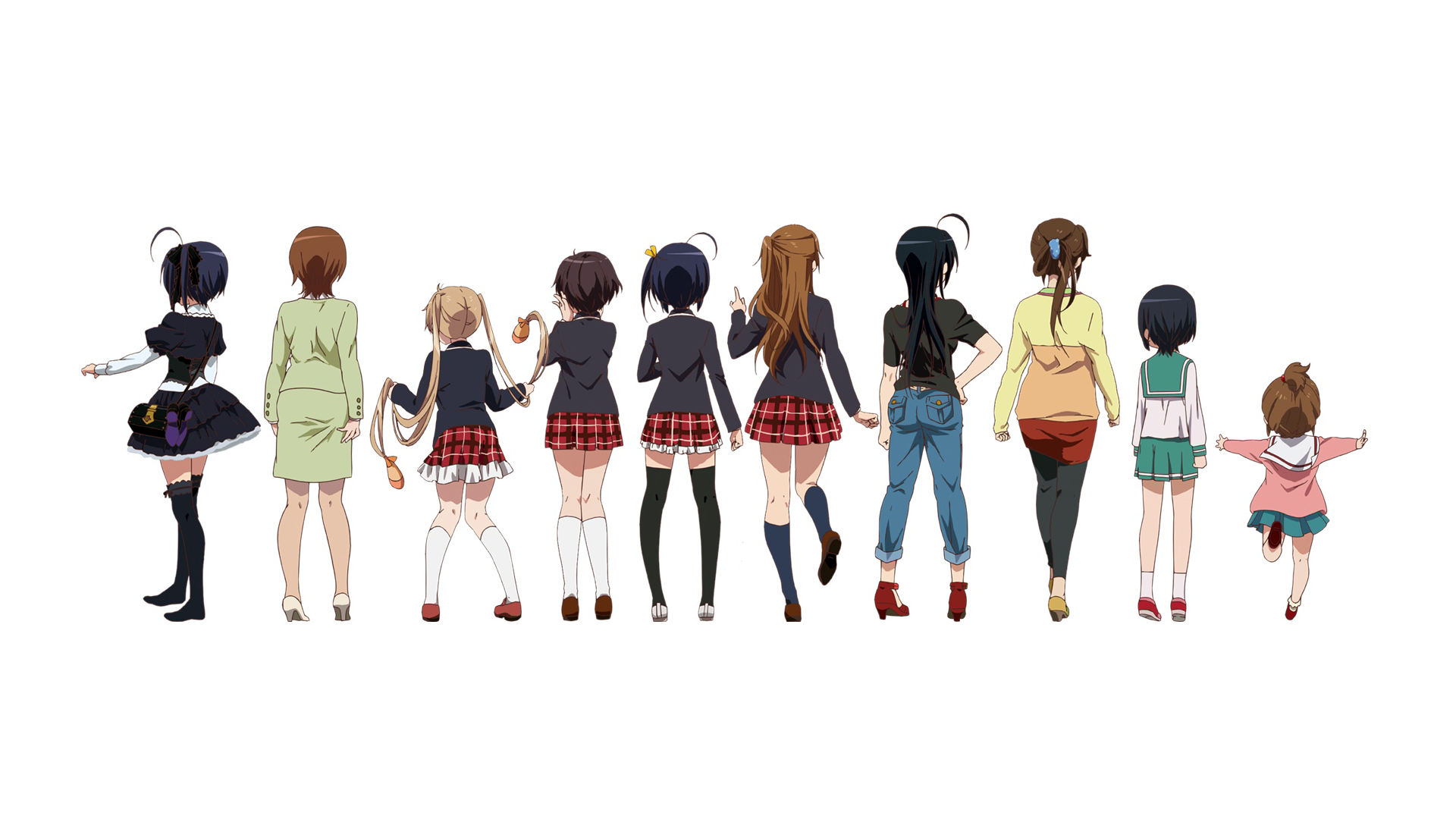 Love Chunibyo Other Delusions Hd Wallpaper Background Image