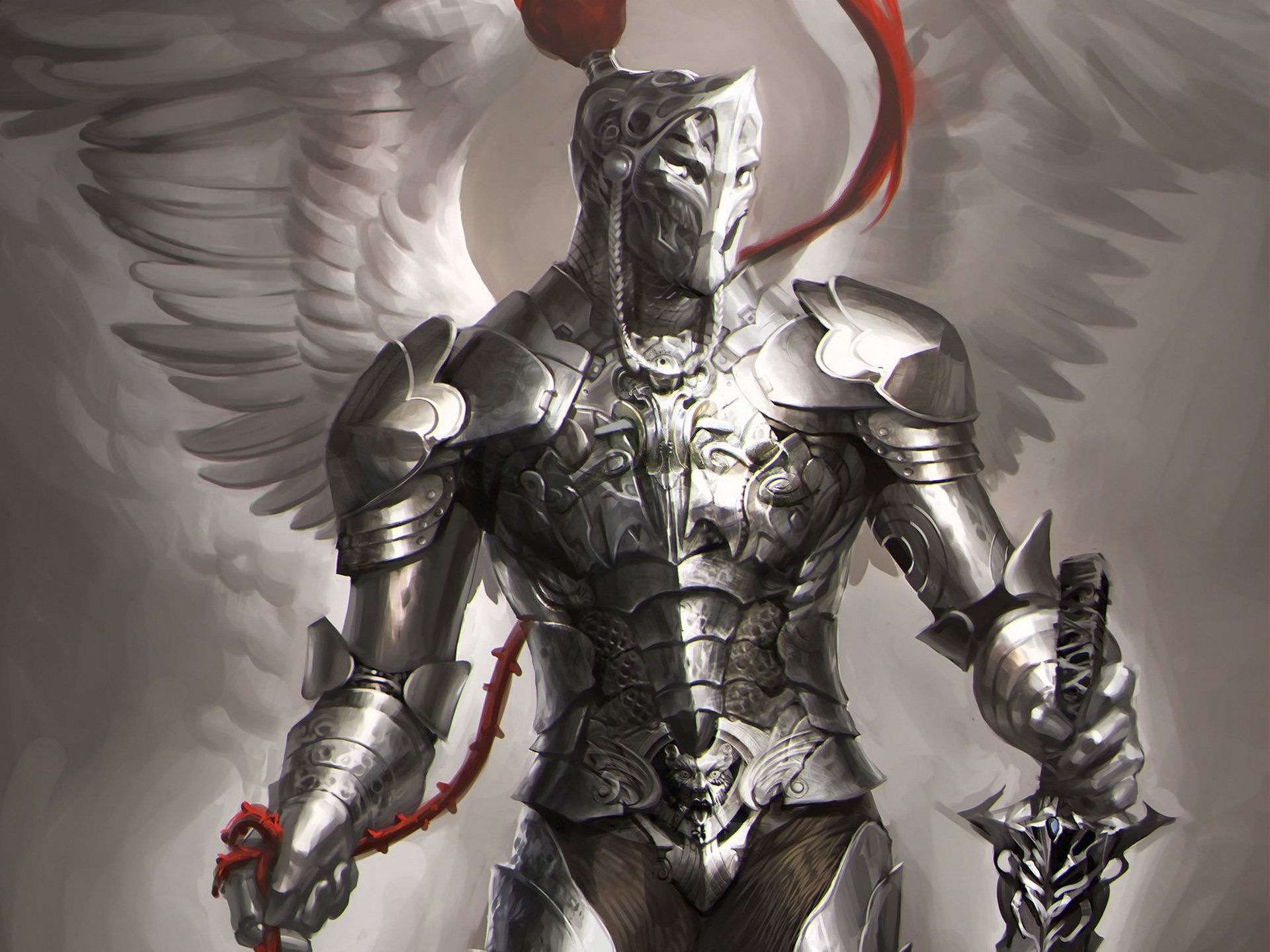 Angel Knight Full HD Wallpaper And Background Image
