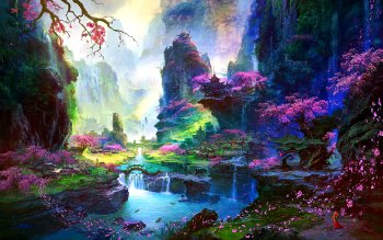 Fantasy - Oriental Wallpapers and Backgrounds ID : 322070