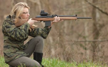 Women - Women & Guns Wallpapers and Backgrounds ID : 322948