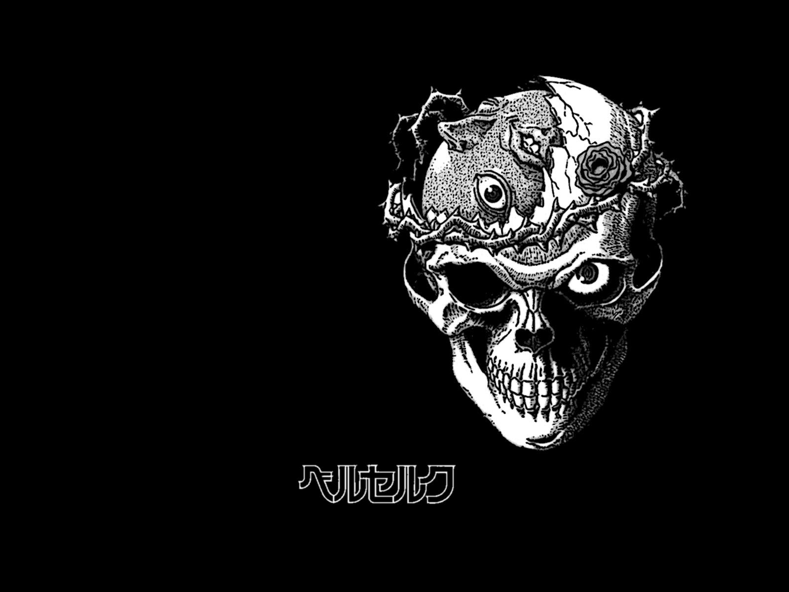 Cool Skull Logos With Guns Skull Wallpaper and Ba...
