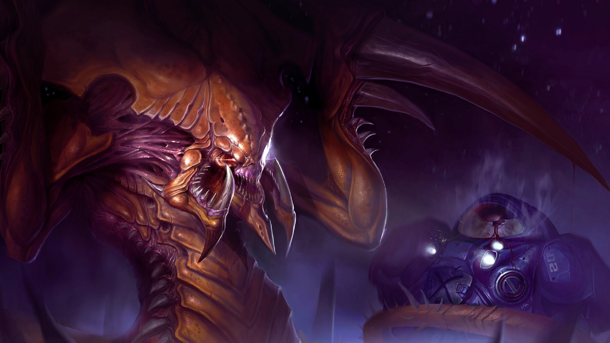zerg starcraft wallpaper 2560x1440 - photo #17