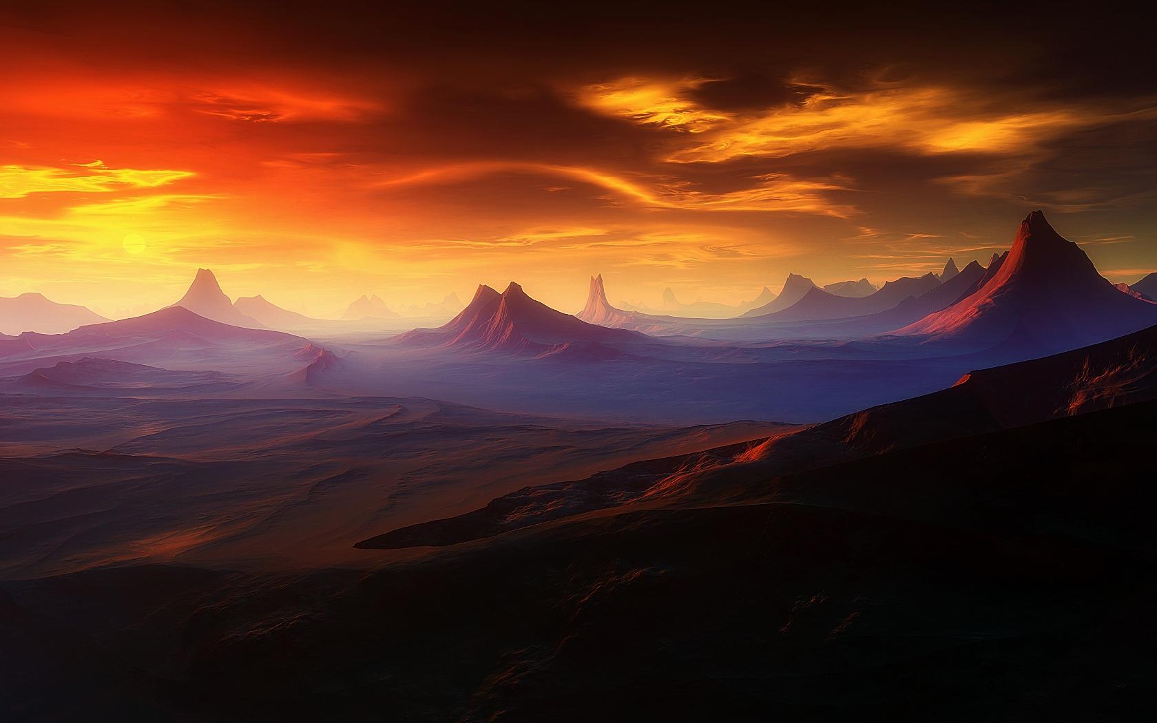 Beautiful Wallpaper Mountain Art - 323979  Image_142720.jpg