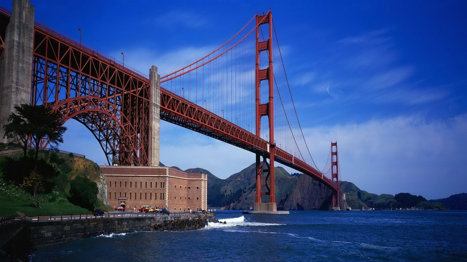 Golden Gate Full Hd Wallpaper And Background Image