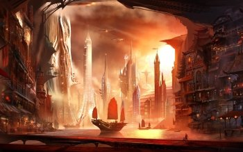Fantasy - Großstadt Wallpapers and Backgrounds ID : 323714