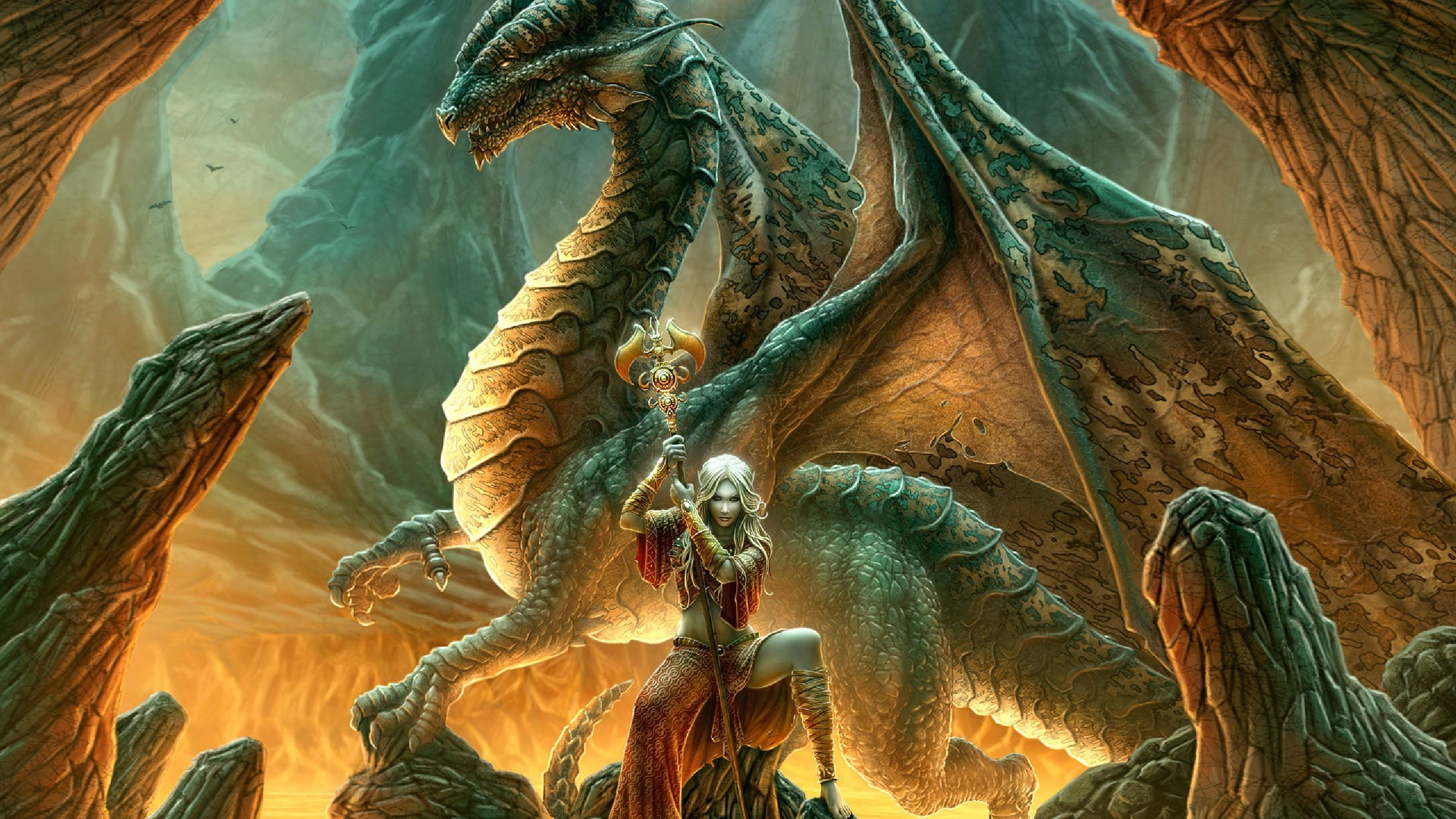 Dragon Hd Wallpaper Background Image 2560x1440 Id