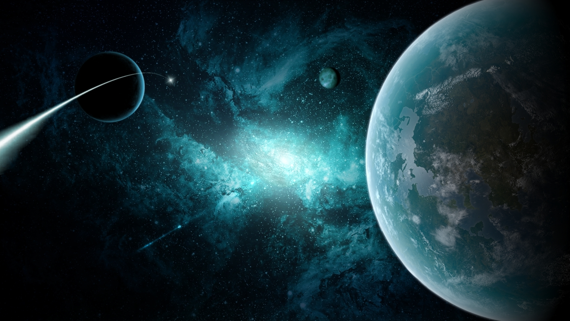 Sci-Fi Planets Wallpaper - Pics about space