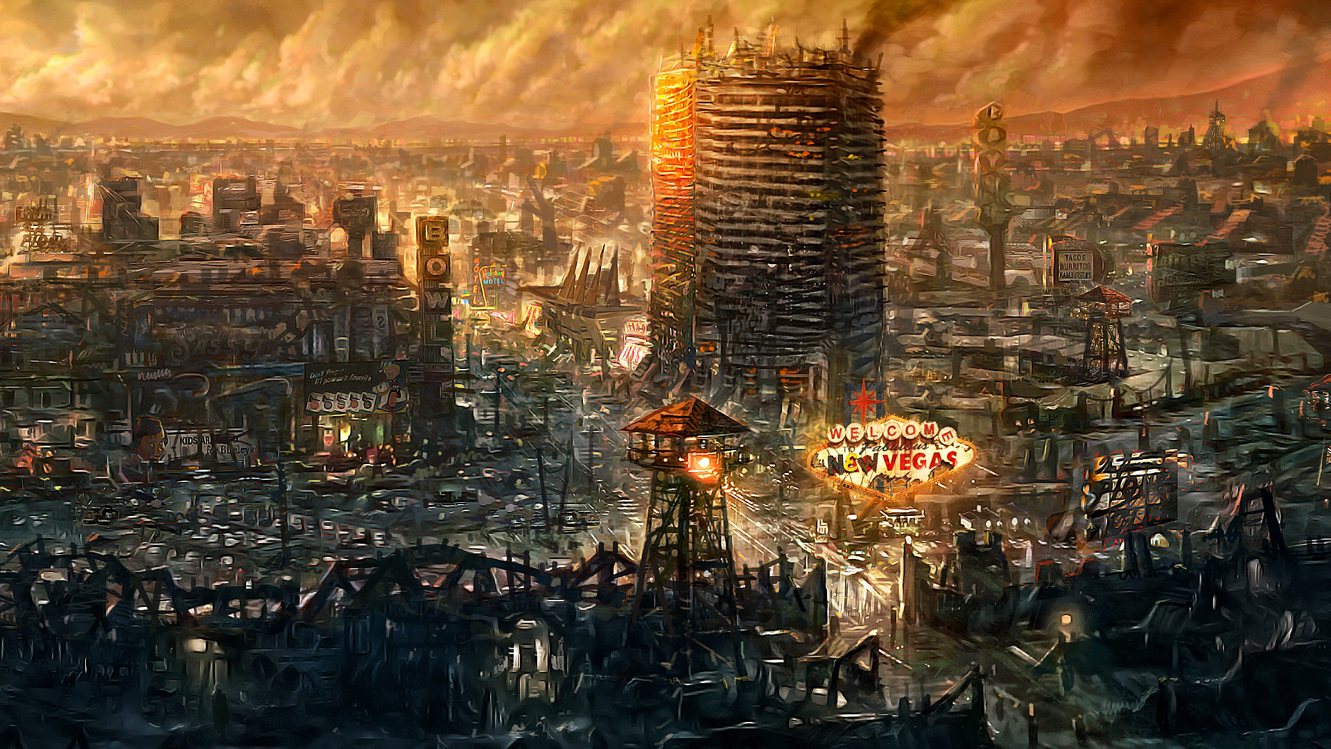 fallout: new vegas full hd wallpaper and background image