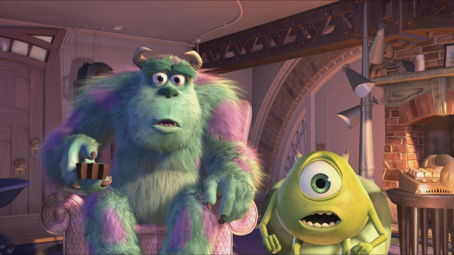monsters inc full hd wallpaper and background image