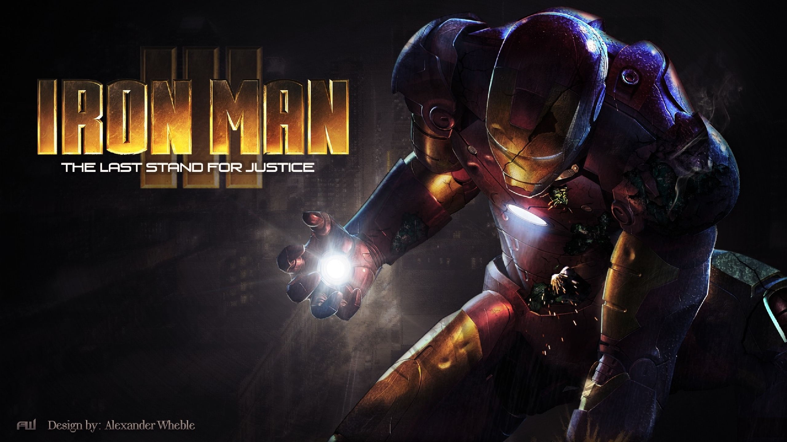 iron man 3 full hd wallpaper and background image | 2560x1440 | id