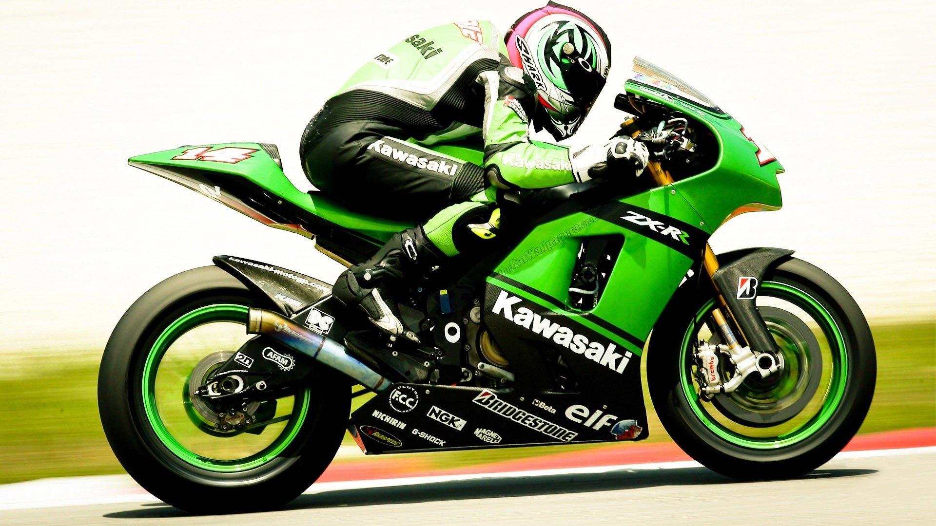 Insane Kawasaki Bike Hd Wallpaper: Kawasaki Full HD Wallpaper And Background