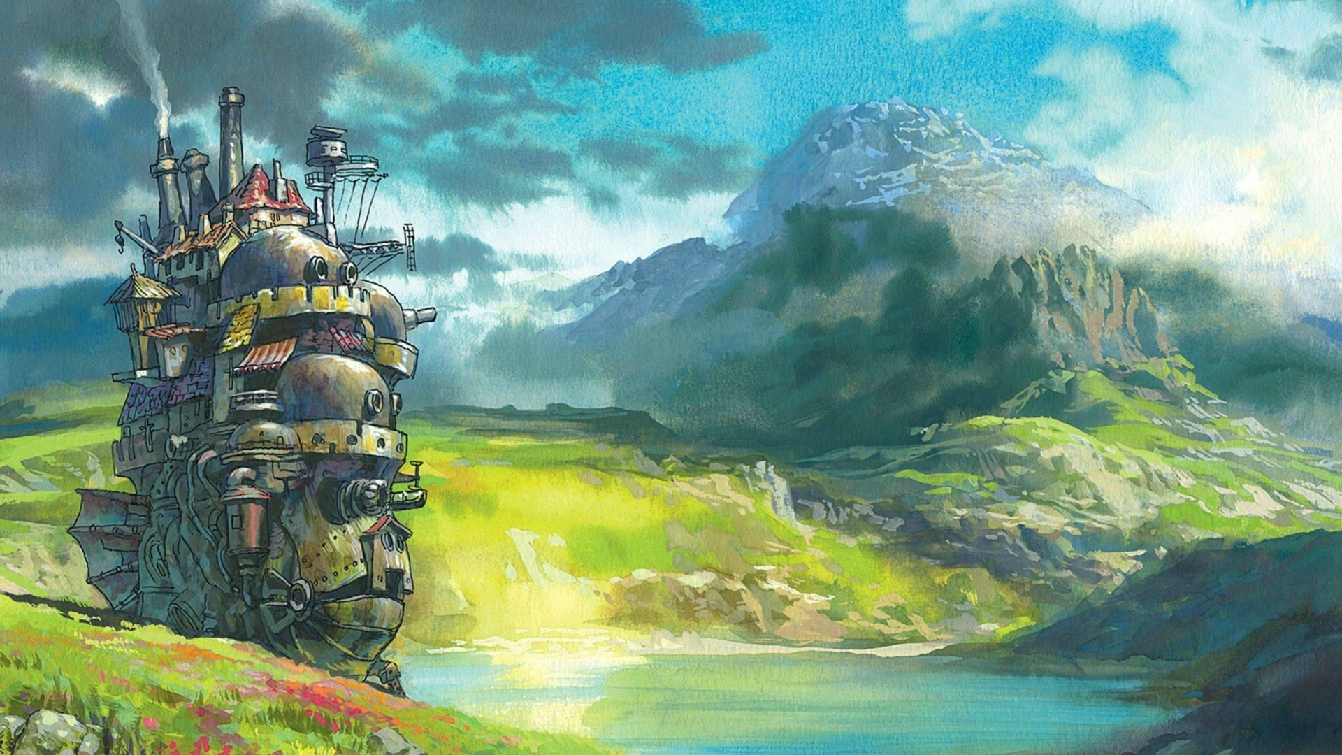 64 Howl S Moving Castle Hd Wallpapers Background Images Wallpaper Abyss