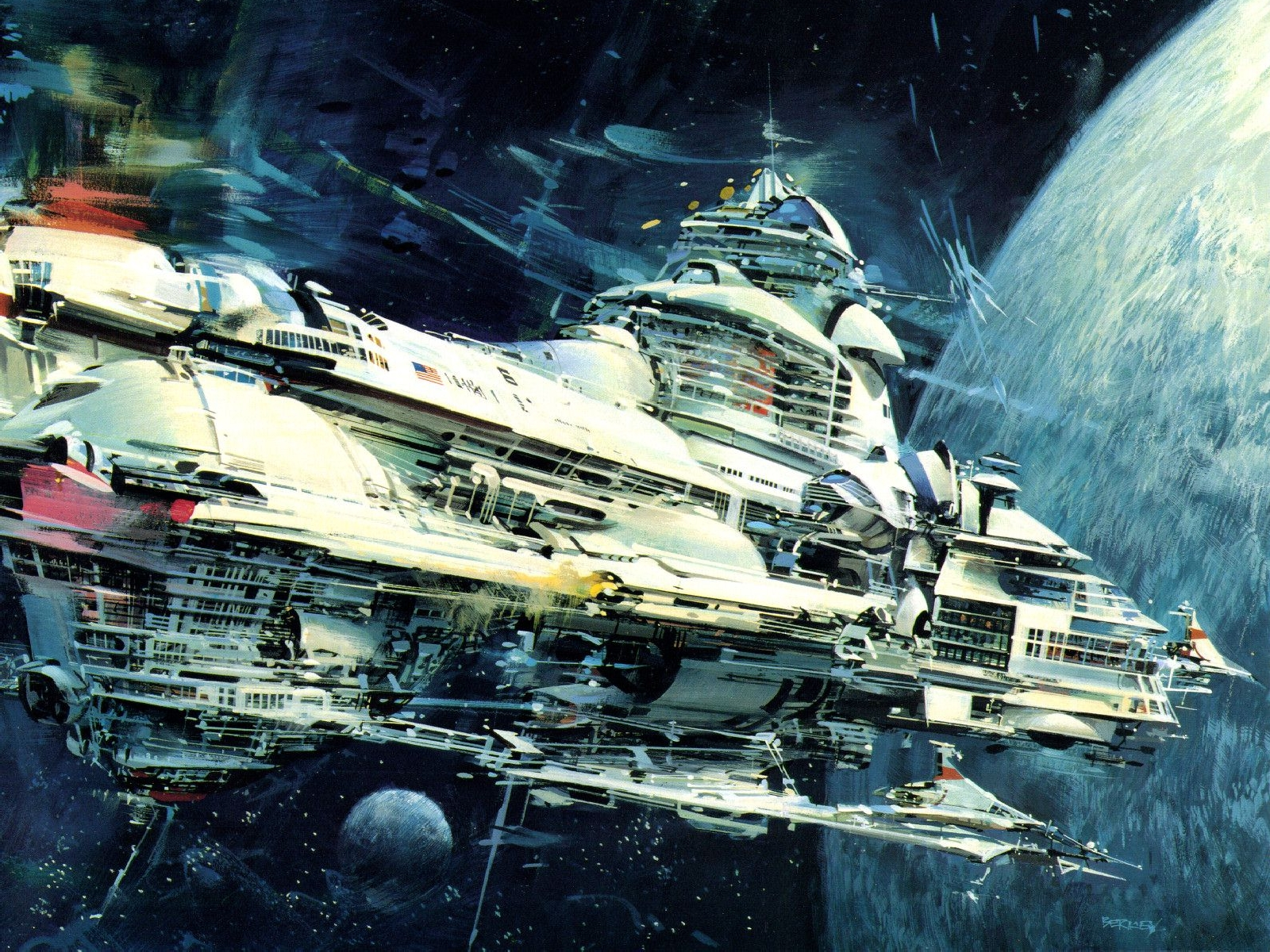 Cool-Space Ship Colony - Pics about space