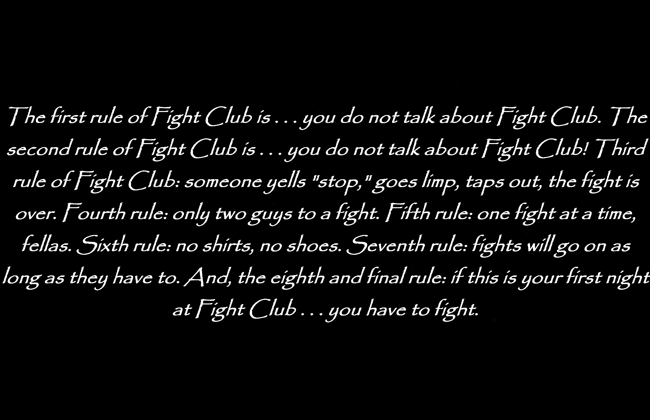 Movie - Fight Club Wallpaper
