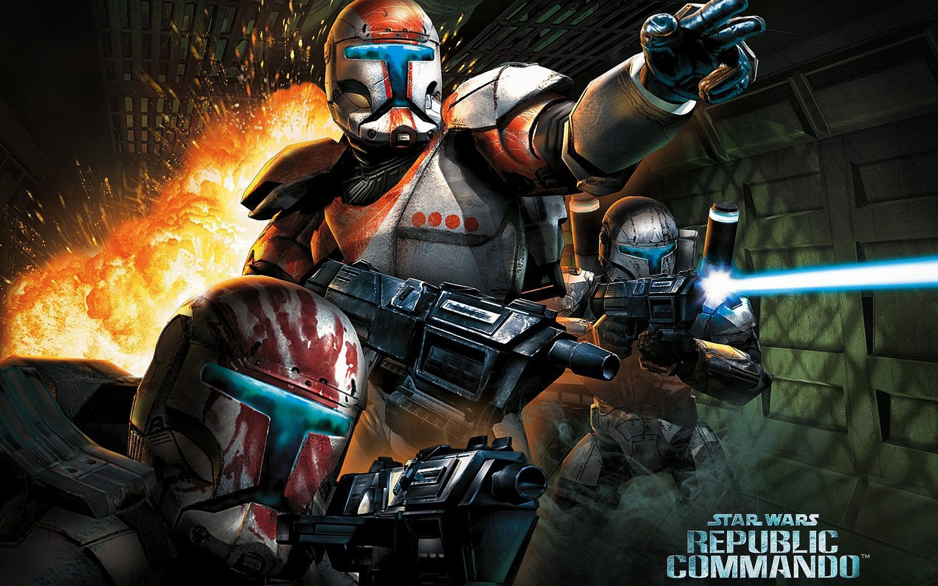 Commando 2 Wallpaper: Star Wars: Republic Commando Full HD Wallpaper And