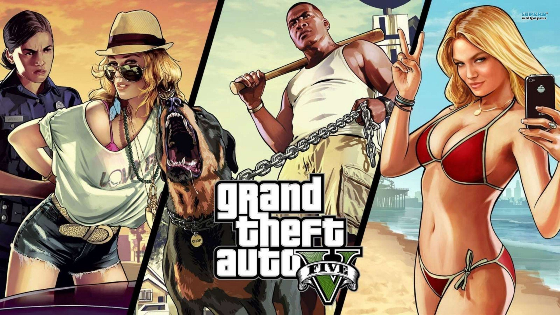 Grand Theft Auto HD Desktop Wallpapers for