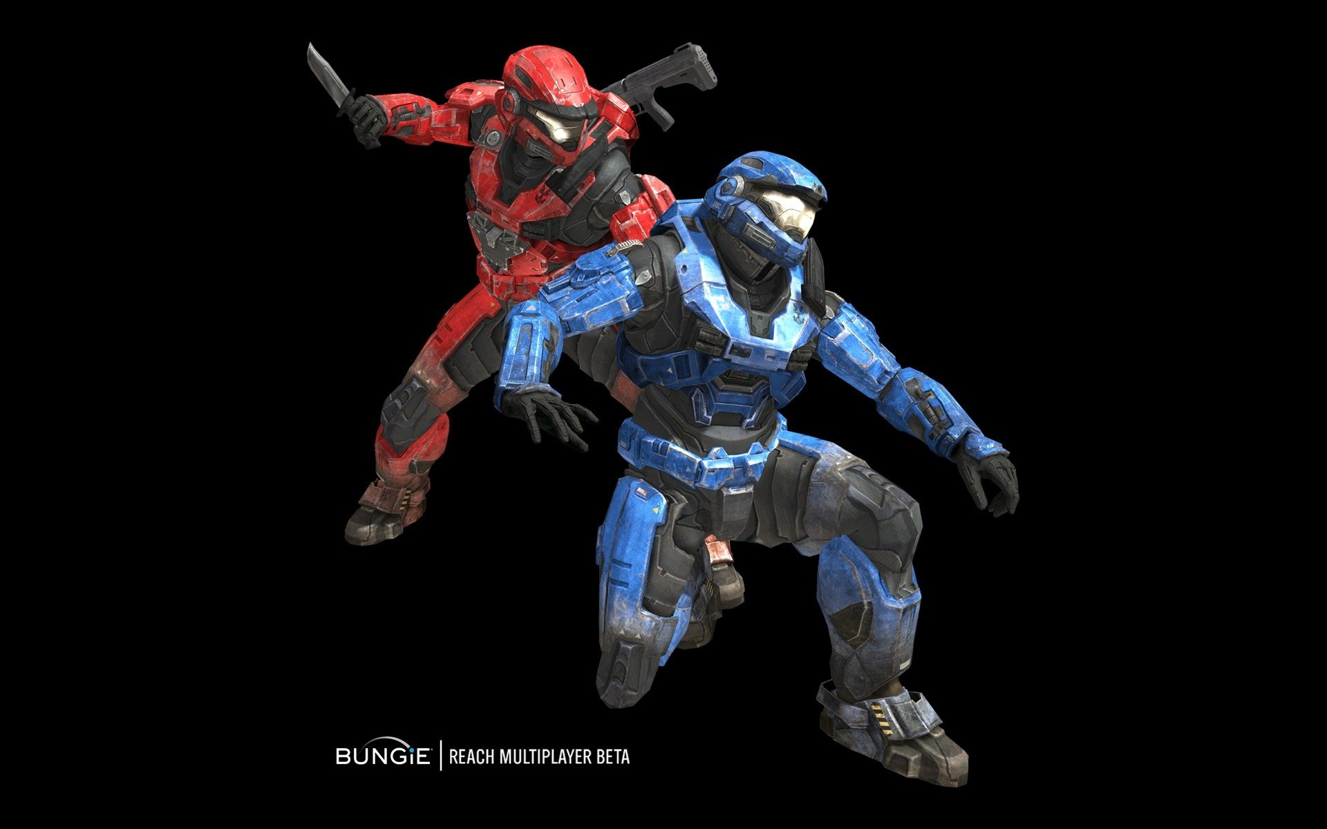 Halo Spartans Red Vs Blue Hd Wallpaper Background Image