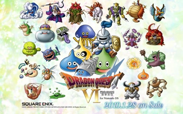 Video Game - dragon quest Wallpapers and Backgrounds