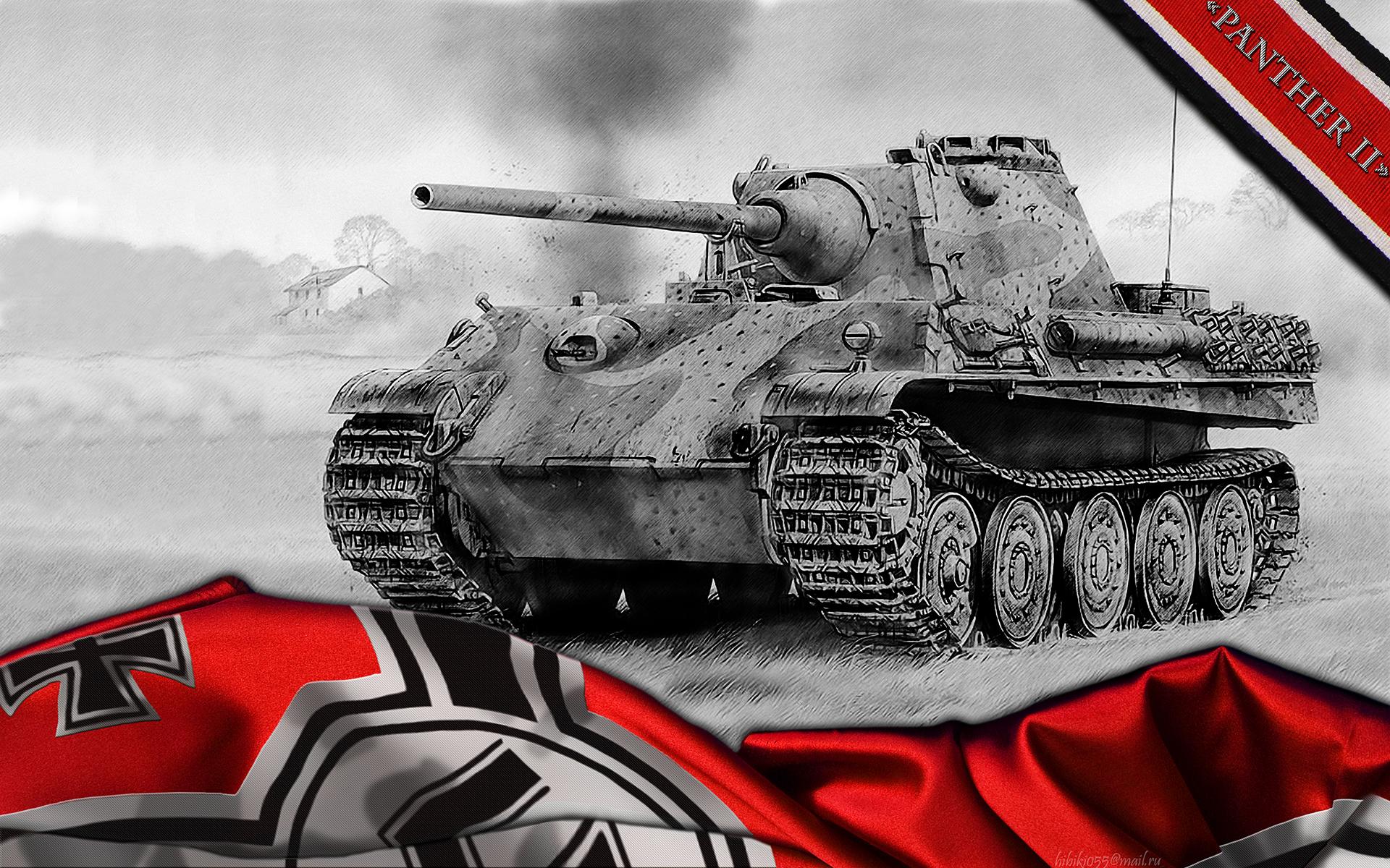 Пантера танк обои для рабочего стола