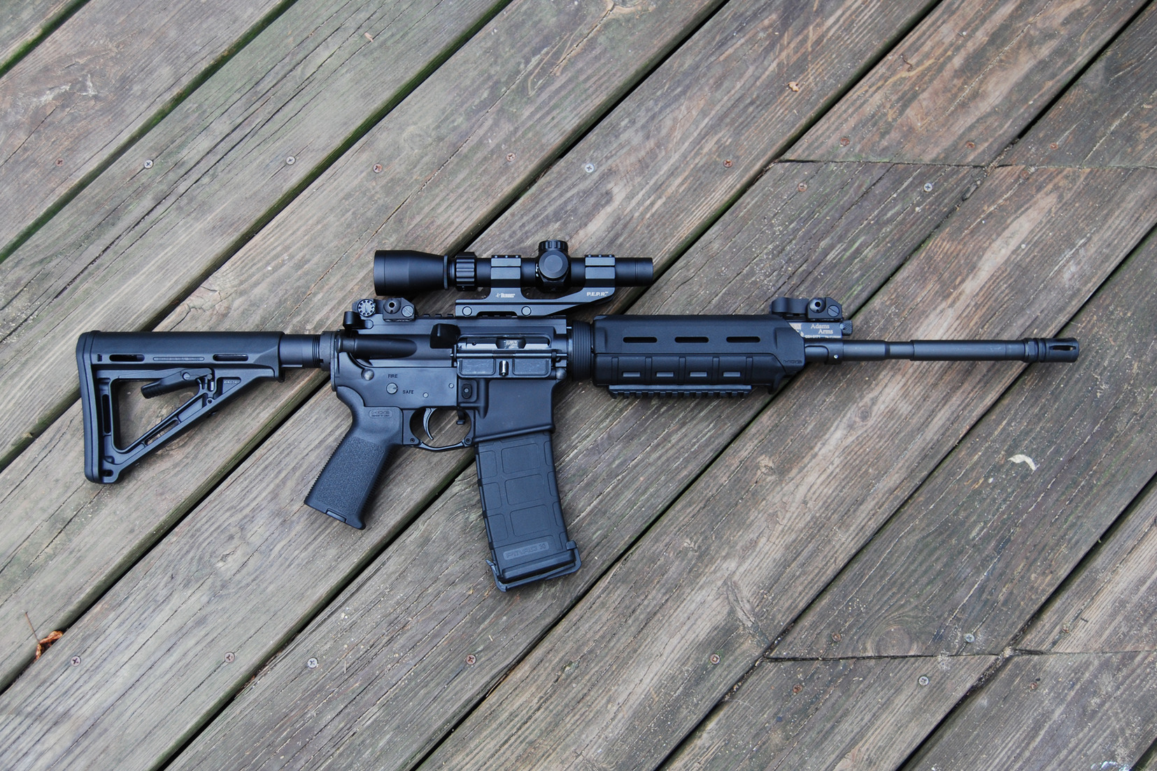 Assault Rifle Wallpaper And Background Image 1654x1103