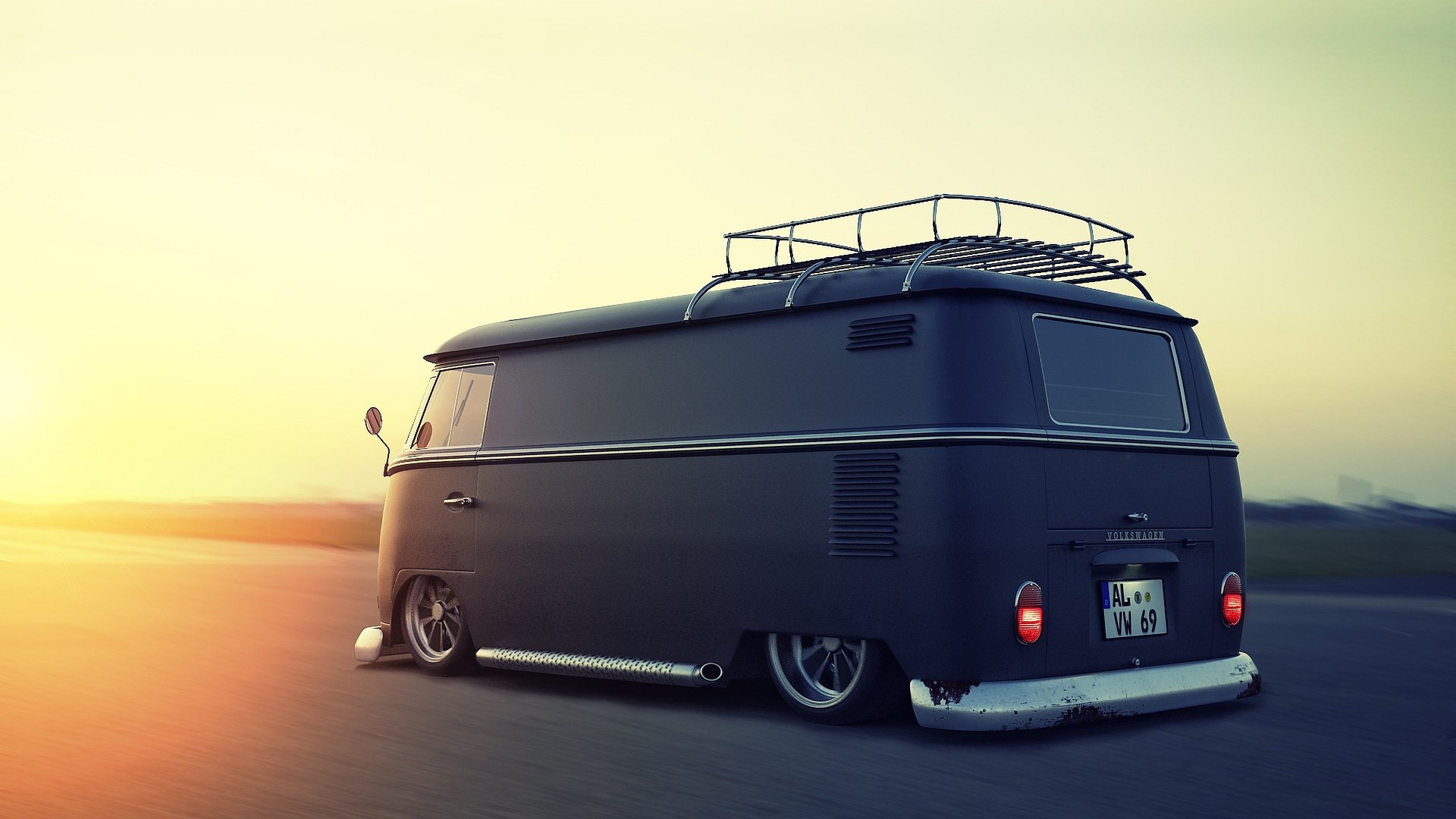 9 Volkswagen Microbus HD Wallpapers | Background Images - Wallpaper Abyss