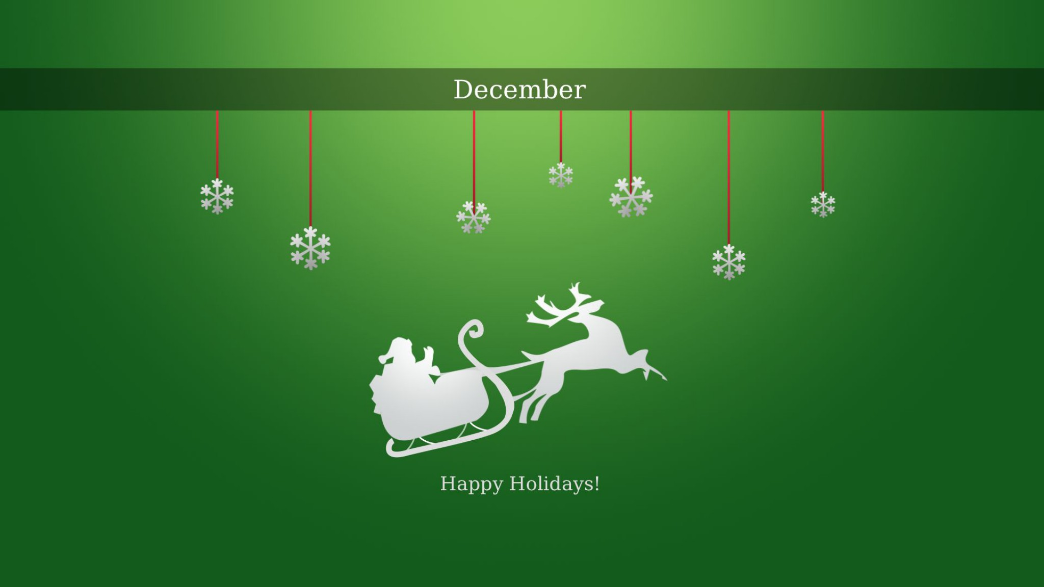 Happy Holidays Hd Wallpaper Background Image 2048x1152 Id